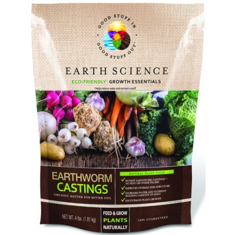 Earth Science Earthworm Castings