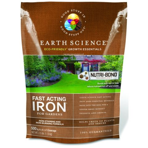 Earth Science Fast Acting Iron