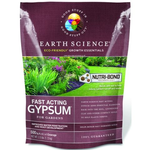 Earth Science Fast Acting Gypsum