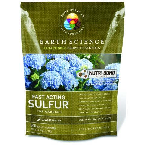 Earth Science Fast Acting Sulfur