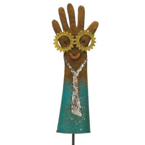 Groovy Glove Stake - Blue