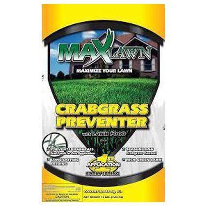 Maxlawn Crabgrass Preventer with Lawn Food