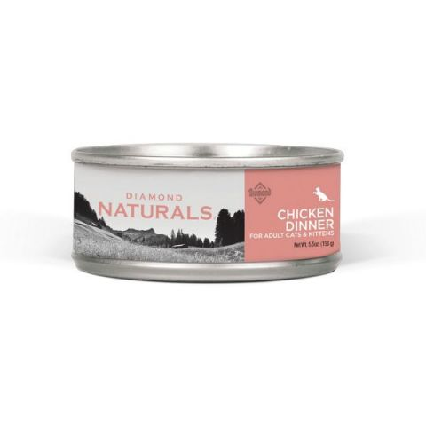 Natural Chicken Dinner Canned Cat Food