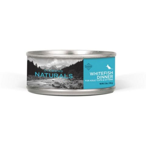 Natural Whitefish Dinner Canned Cat Food