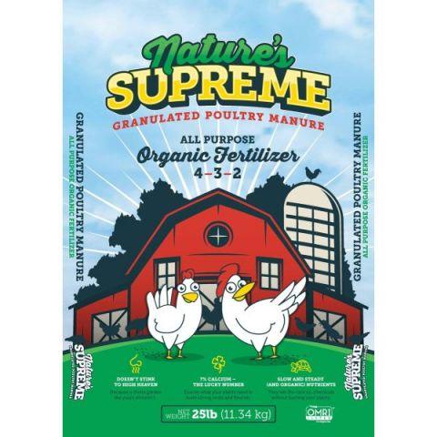 Nature's Supreme Lawn & Garden Food