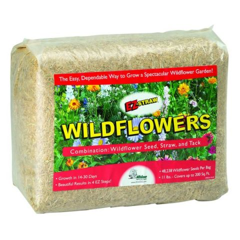 Rhino EZ-Straw Wildflowers Patch Small Bale