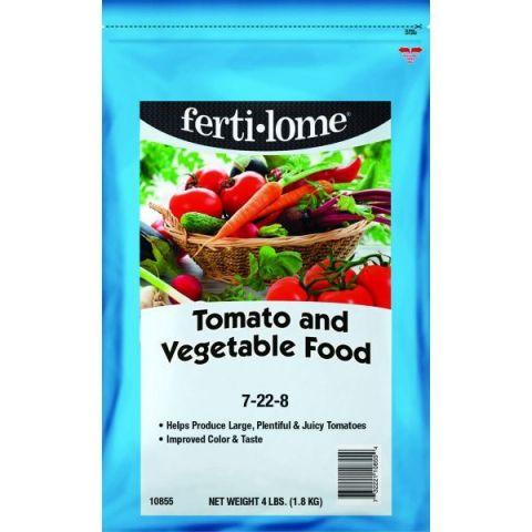 Fertilome Tomato & Vegetable Food 7-22-8