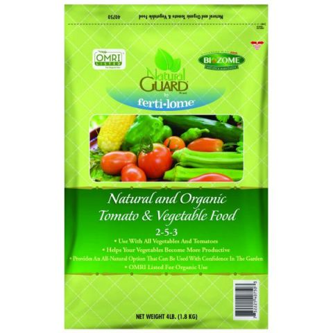 Natural Guard Organic Tomato & Vegetable Food 2-5-3