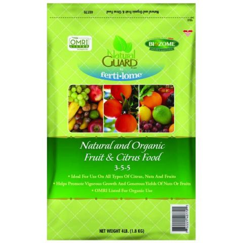 Natural Guard Organic Fruit & Citrus Food 3-5-5