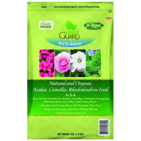 Natural Guard Organic Azalea Camellia & Rhododendren Food 5-4-3
