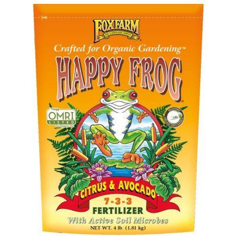FoxFarm Happy Frog Citrus & Avocado Dry Fertilizer