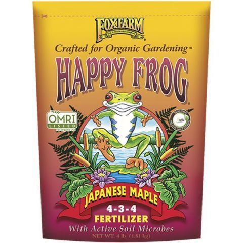 FoxFarm Happy Frog Japanese Maple Dry Fertilizer