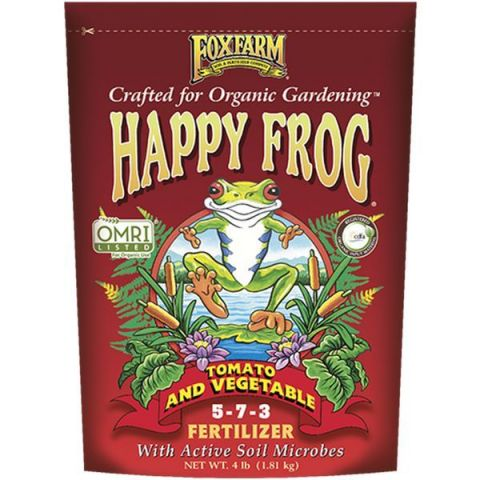 FoxFarm Happy Frog Tomato & Vegetable Dry Fertilizer