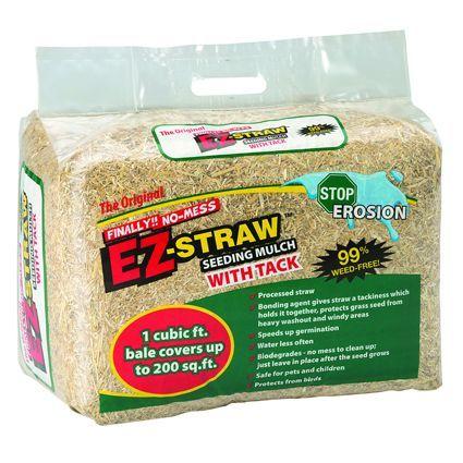 Rhino EZ-Straw Mulch with Tack