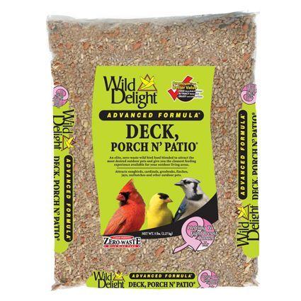Wild Delight Deck Porch N' Patio Wild Bird Food