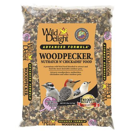 Wild Delight Woodpecker Nuthatch N' Chickadee Wild Bird Food