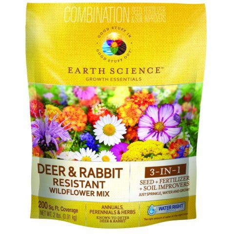 Earth Science Wildflower Deer & Rabbit Resistant Mix